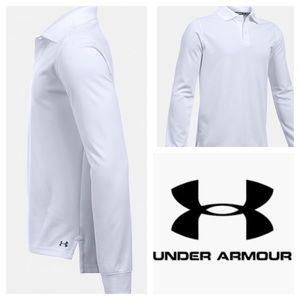 Under Armour Shirts & Tops - Boys UA long sleeve Polo